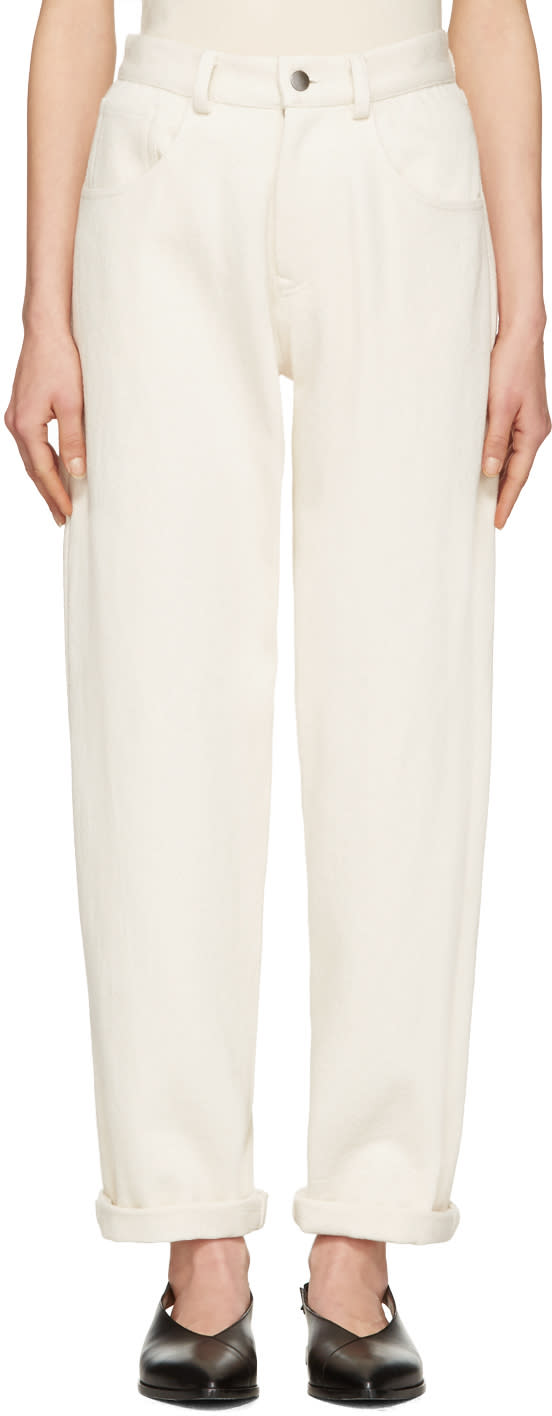 Moderne Ivory Painter Jeans