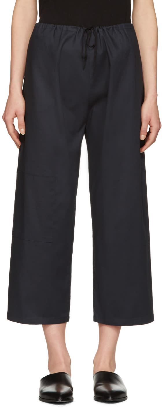 Moderne Navy Oxford Gallery Trousers