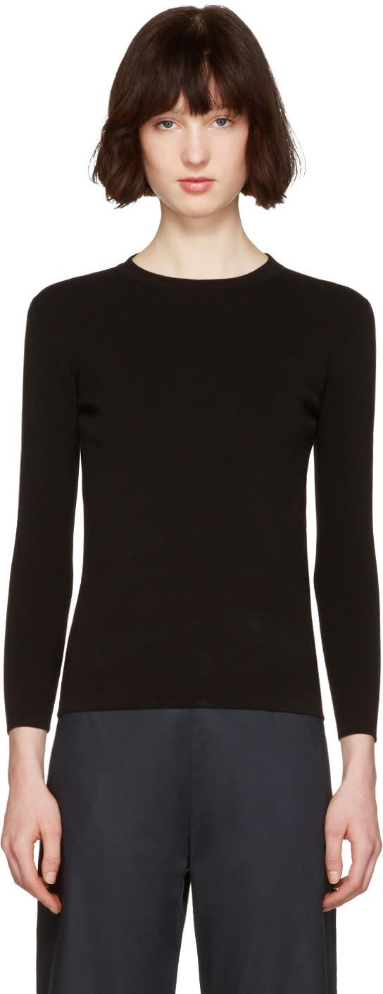 Moderne Black Portrait Pullover