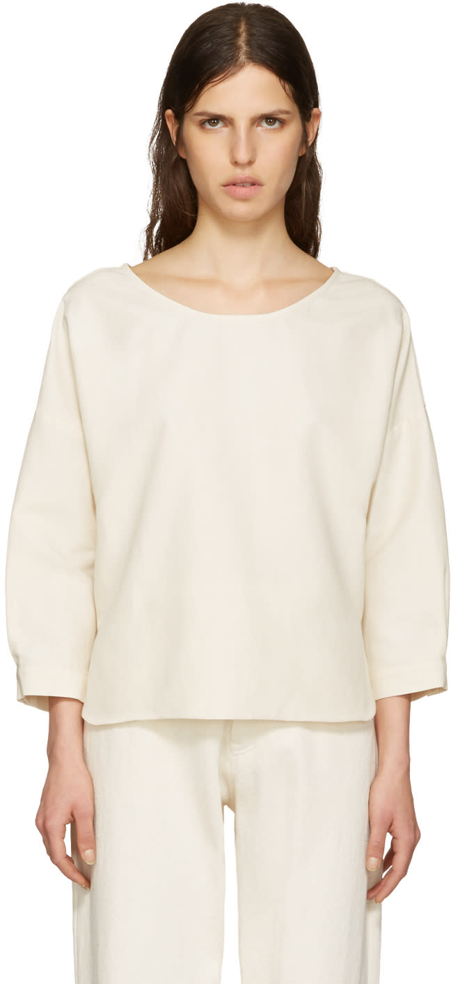 Moderne Off-white Academie Top