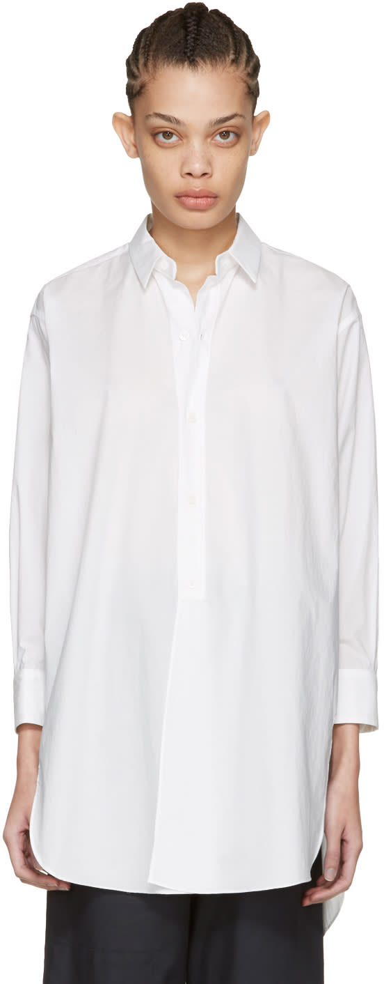Moderne White New Drafting Shirt