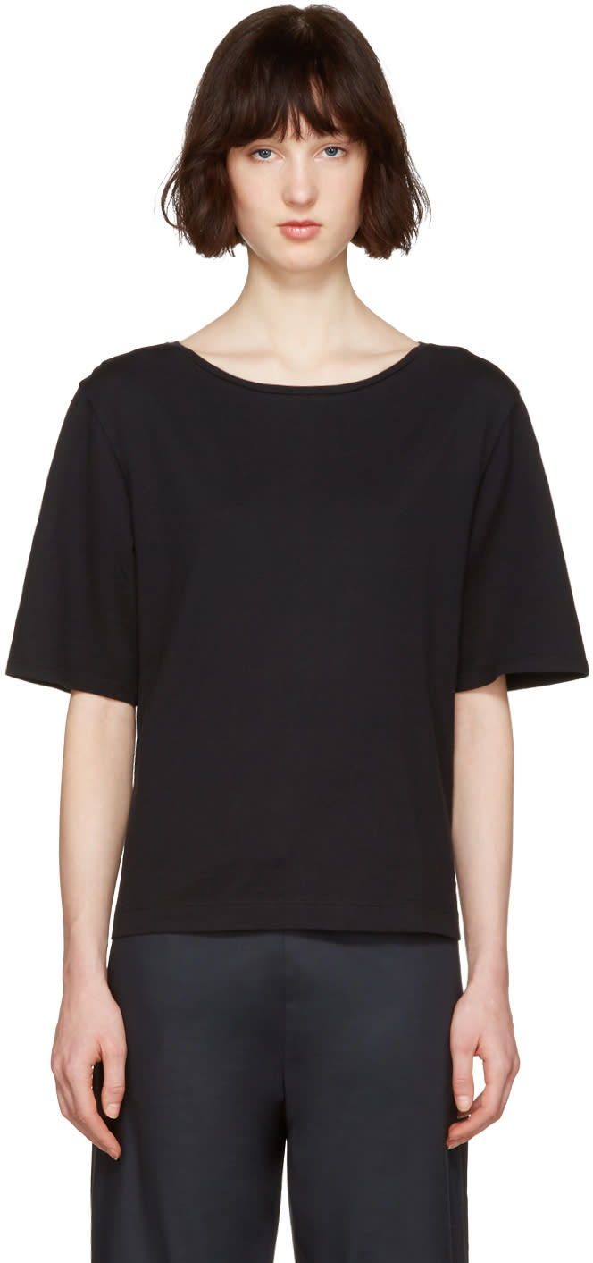 Moderne Black Drafting T-shirt
