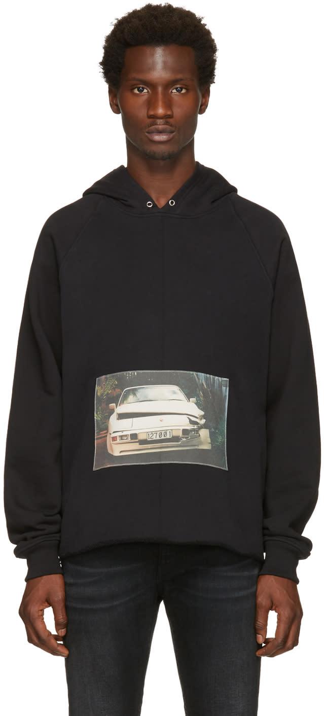 Enfants Riches Deprimes Black Porsche Crash Hoodie