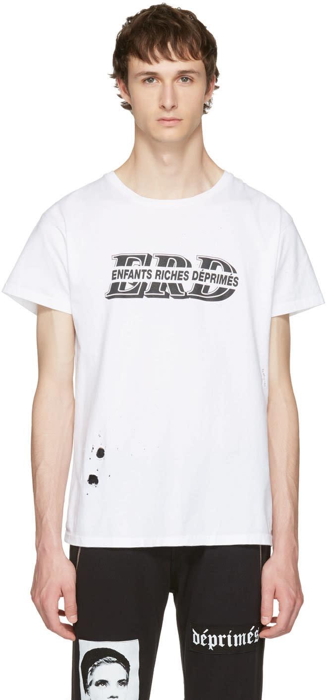 Enfants Riches Deprimes White Alt Logo T-shirt