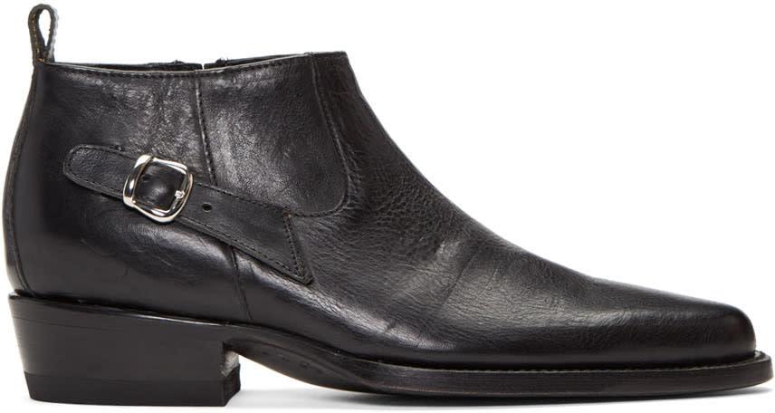 Enfants Riches Deprimes Black Chelsea Boots