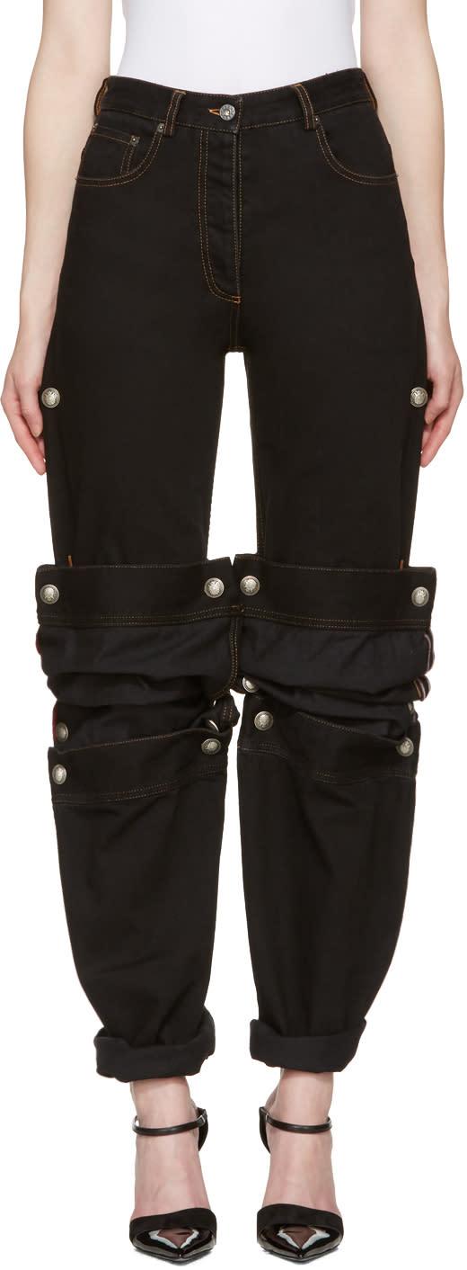 Y-project Black Cufflink Jeans
