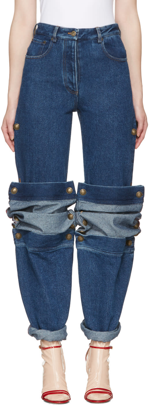 Y-project Navy Cufflink Jeans