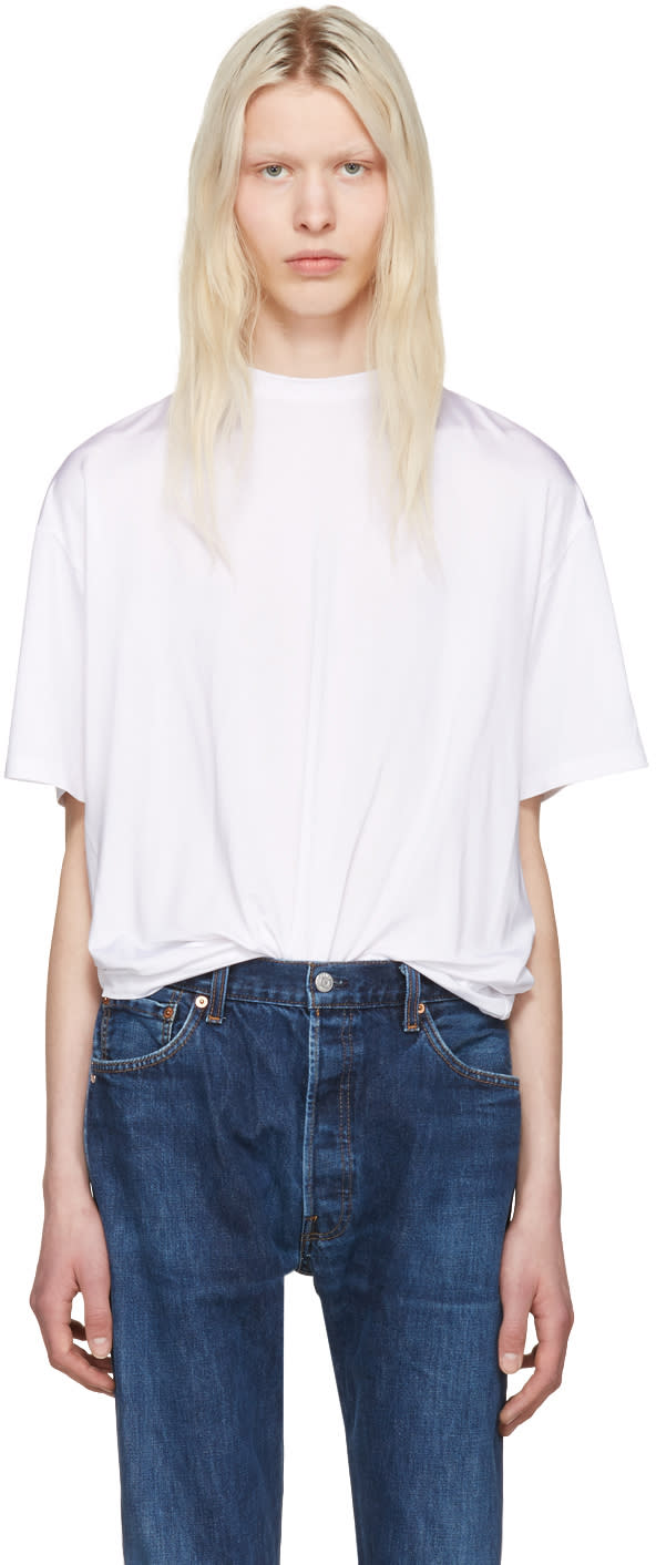 Y-project White y Detail T-shirt