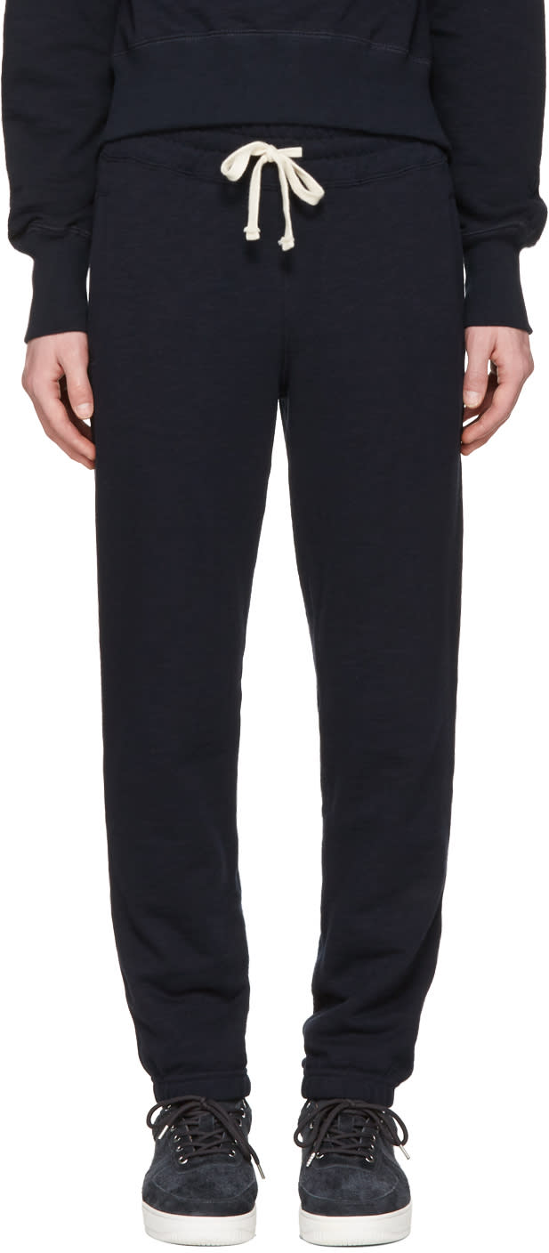 Image of Aime Leon Dore Navy Camper Lounge Pants