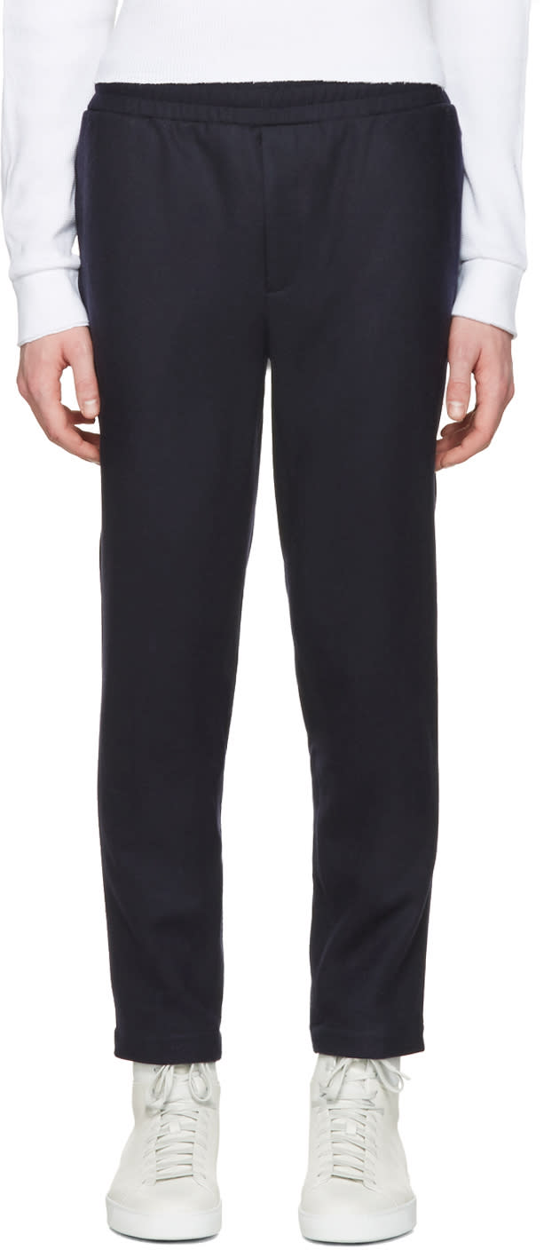 Aime Leon Dore Ssense Exclusive Navy Wool Trousers