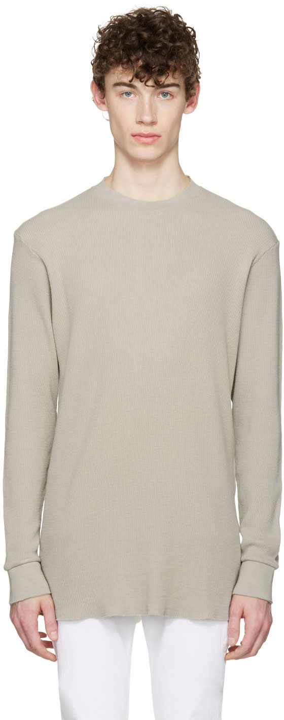 Aime Leon Dore Ssense Exclusive Grey Long Sleeve T-shirt