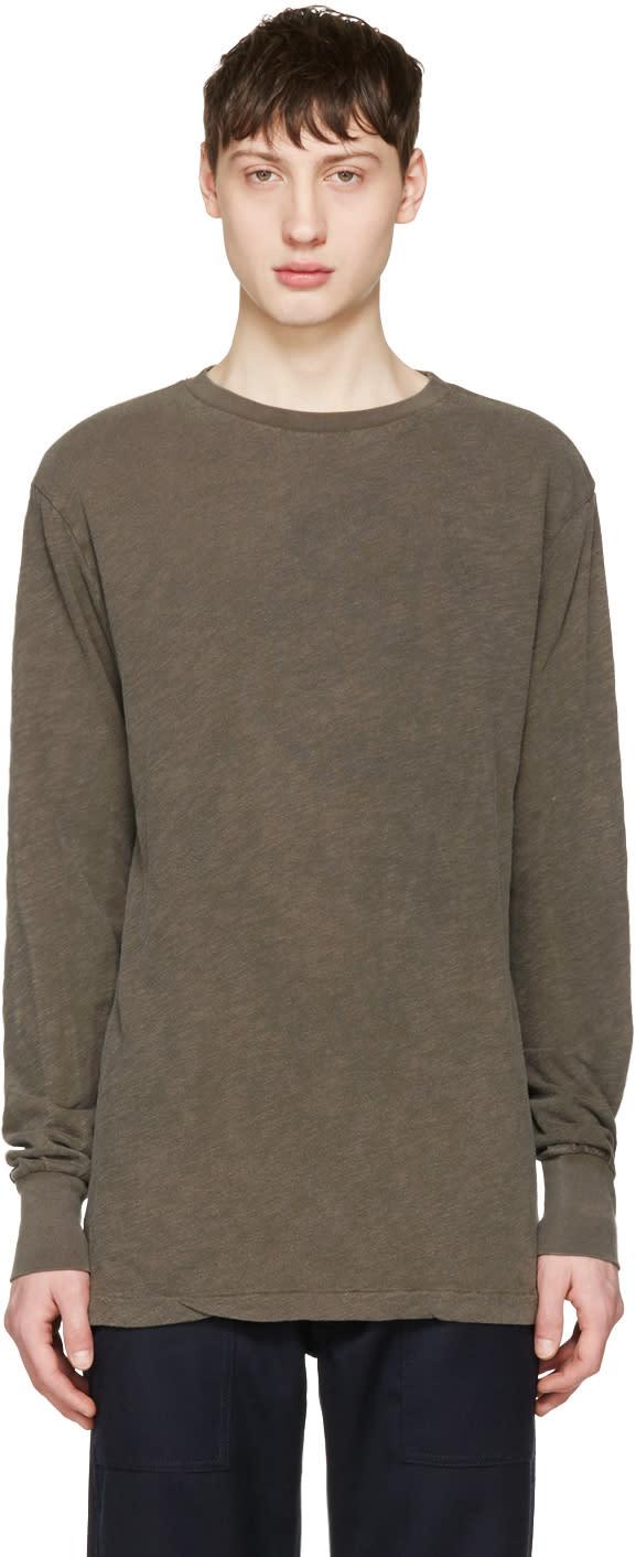 Aime Leon Dore Khaki Loose T-shirt