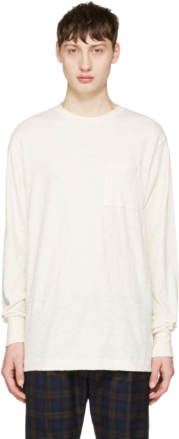 Image of Aime Leon Dore Beige Loose Pocket T-shirt