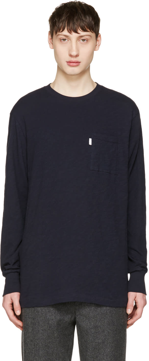 Aime Leon Dore Navy Loose Pocket T-shirt