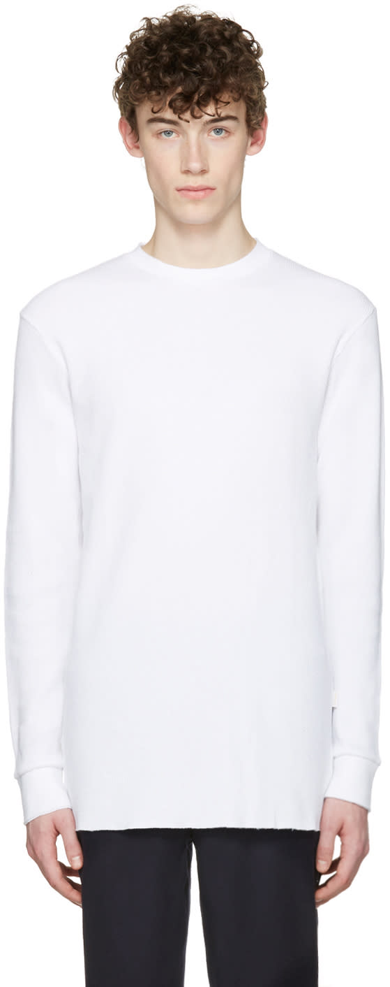 Aime Leon Dore Ssense Exclusive White Long Sleeve T-shirt