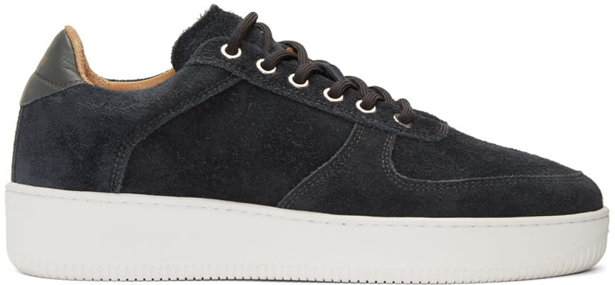 Aime Leon Dore Ssense Exclusive Grey Suede Sneakers