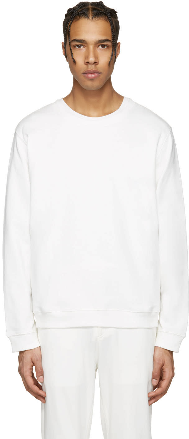 Rochambeau White Keith Pullover