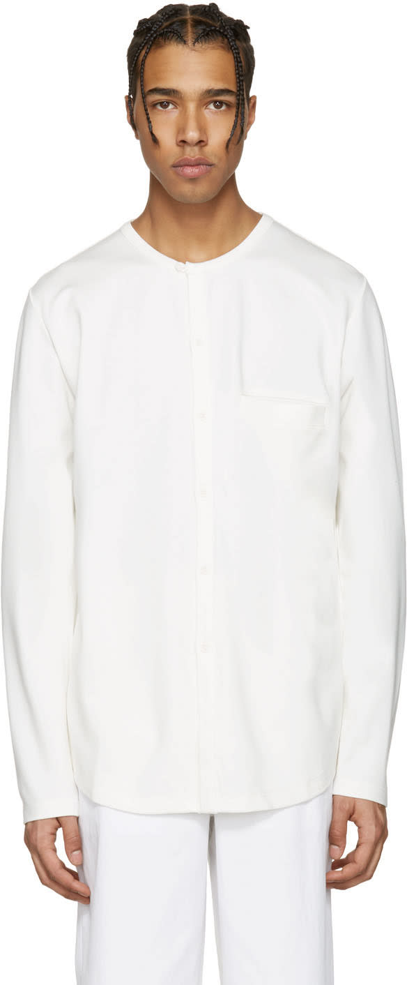 Rochambeau Ecru K.r. Henley Shirt