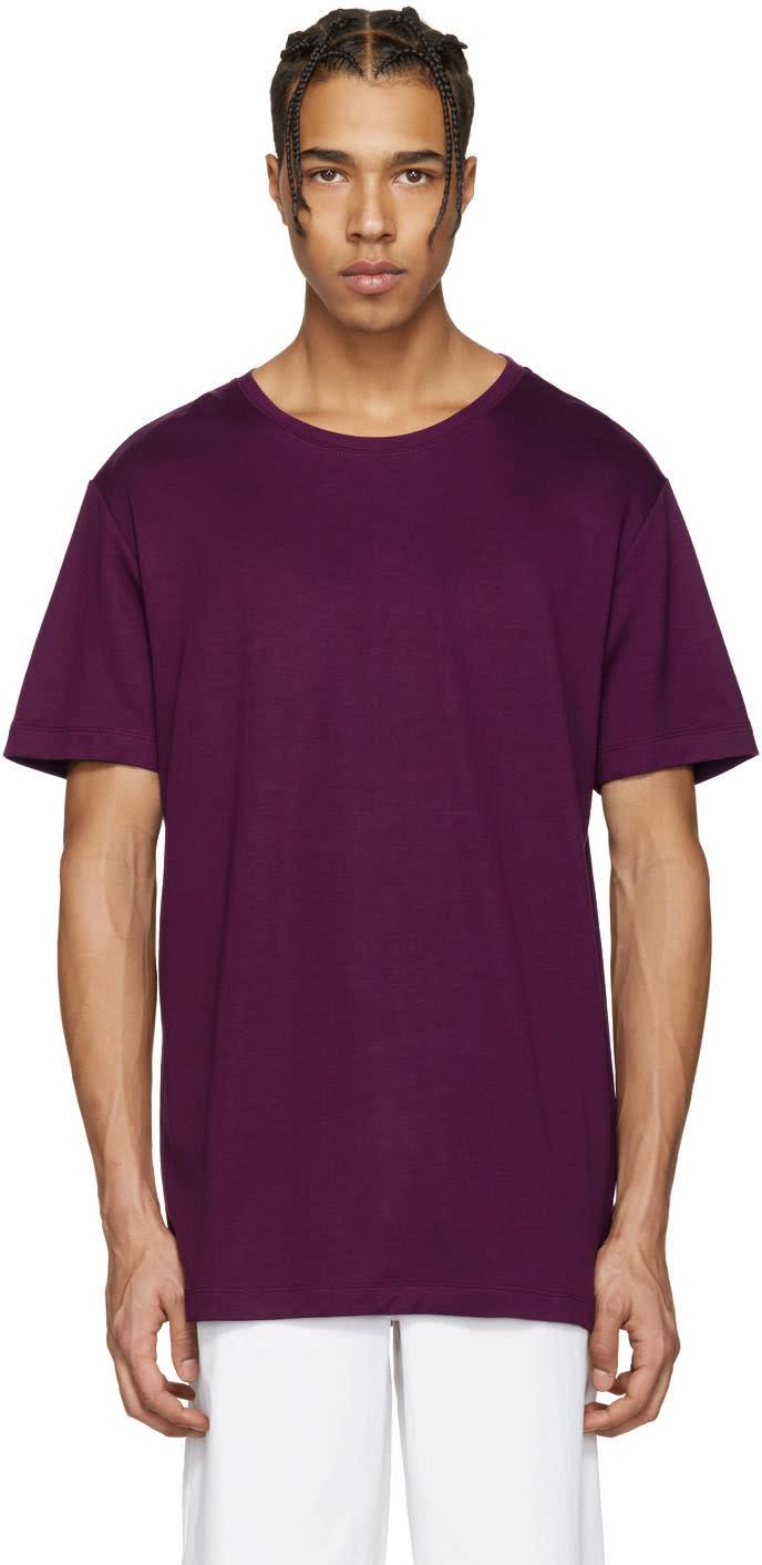 Rochambeau Purple Mamounia T-shirt