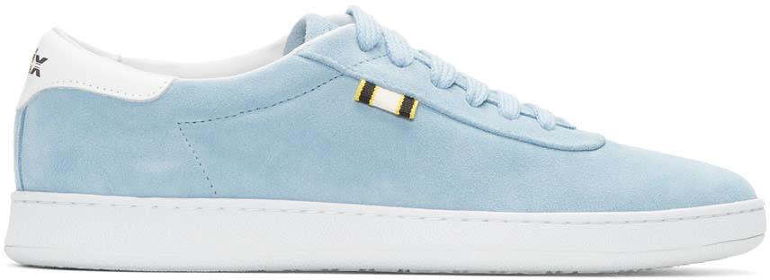 Aprix Blue Suede Apr-002 Sneakers