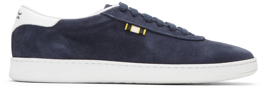 Image of Aprix Navy Suede Apr-002 Sneakers