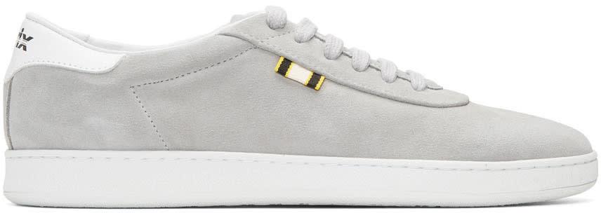 Aprix Grey Suede Apr-002 Sneakers