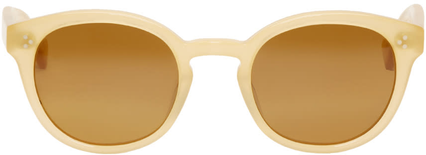 Saturdays Nyc Beige Mtisu Sunglasses