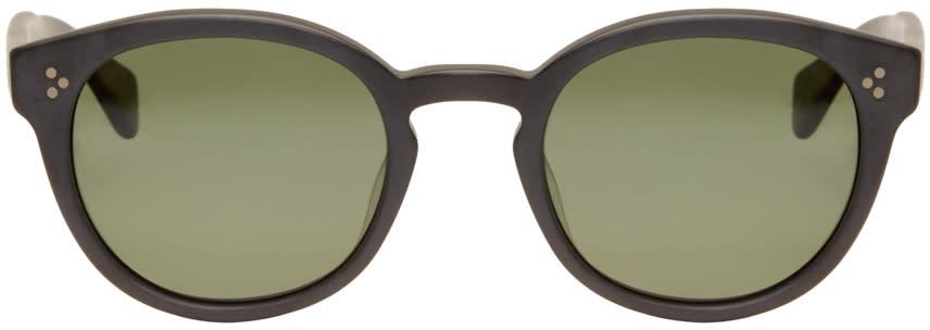Saturdays Nyc Black Mtisu Sunglasses