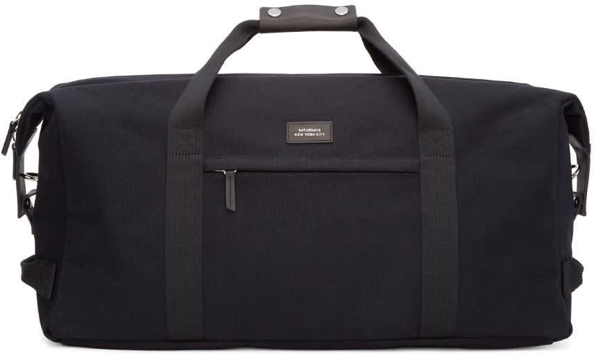 Saturdays Nyc Black Norfolk Duffle Bag