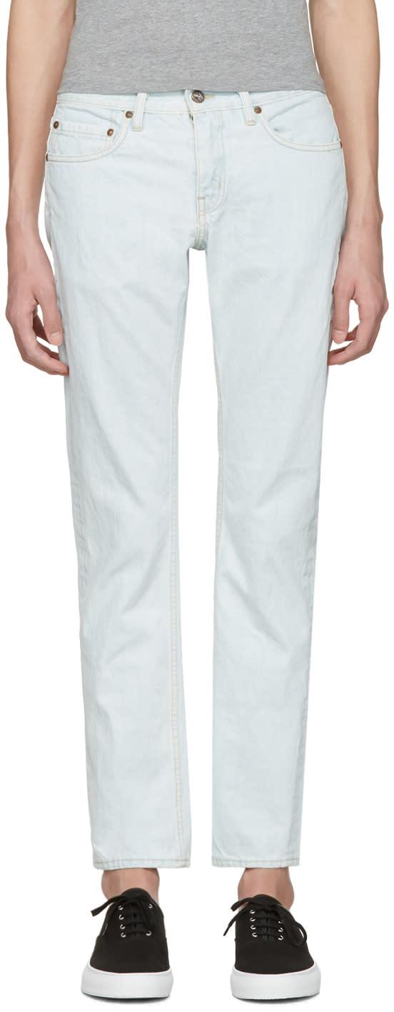 Saturdays Nyc Blue Luke Jeans