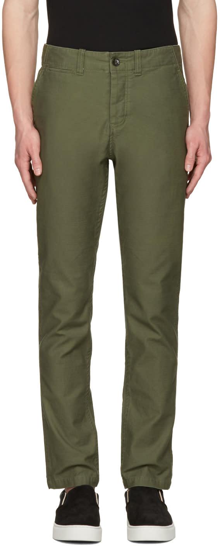 Saturdays Nyc Green Field Trousers
