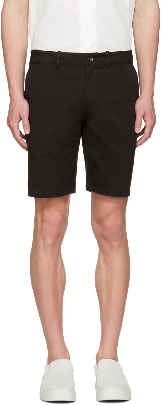 Saturdays Nyc Black Tommy Shorts