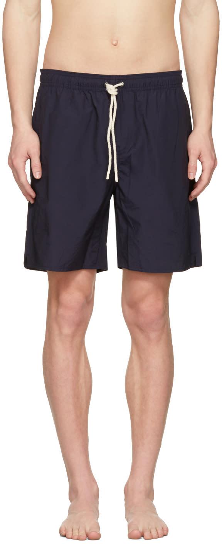 Saturdays Nyc Navy Timothy Swim Shorts