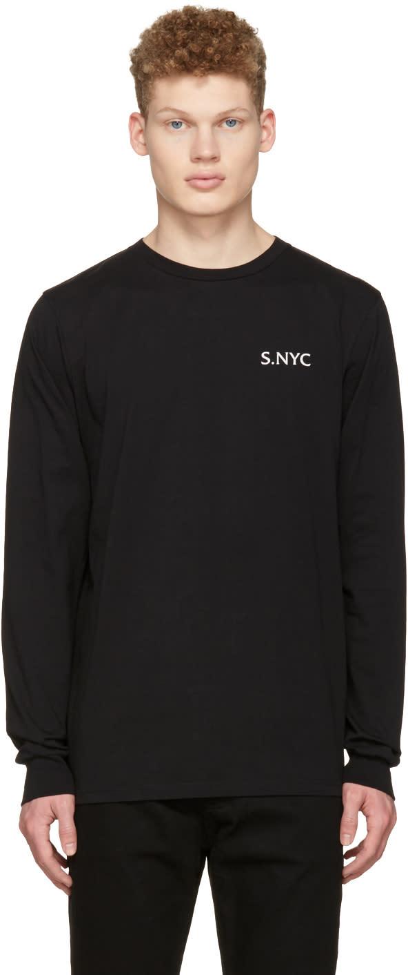 Saturdays Nyc Black Eastside Westside T-shirt