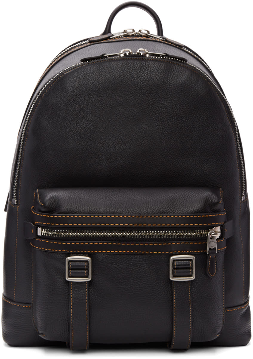 Image of Coach 1941 Black Flag Backpack