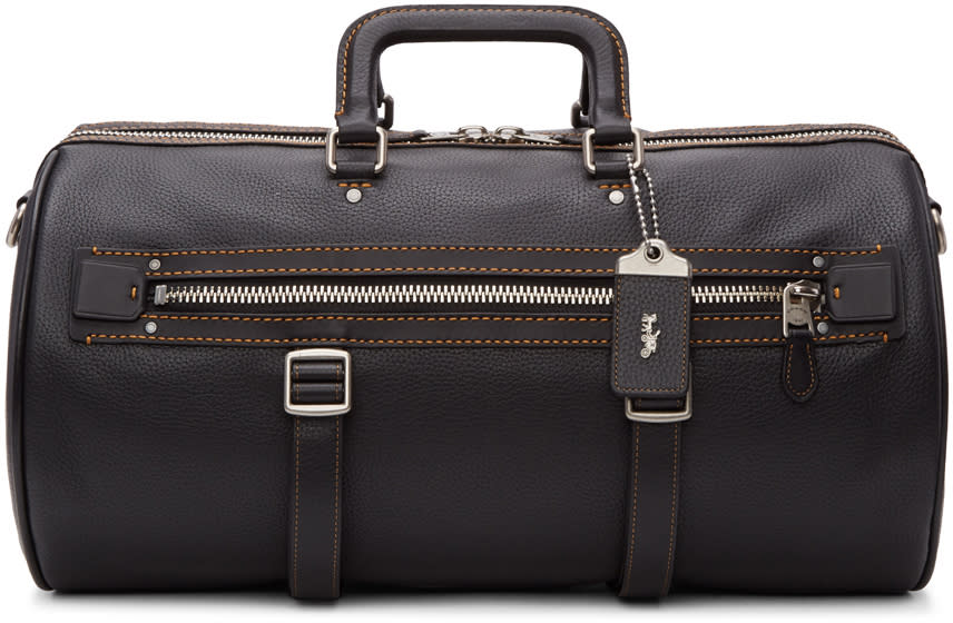 Image of Coach 1941 Black Flag Gym Bag
