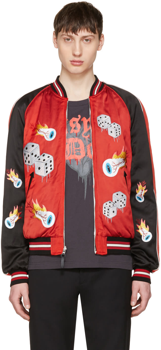 Coach 1941 Reversible Red tough Luck Souvenir Jacket