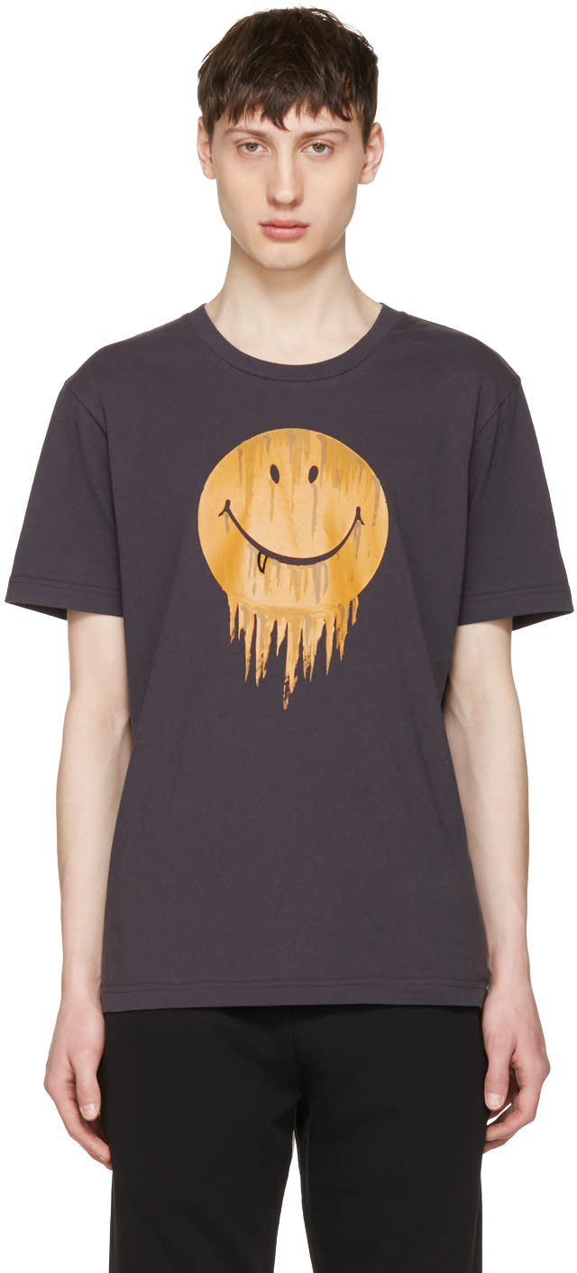 Image of Coach 1941 Black Baseman Edition Gnarly Face T-shirt