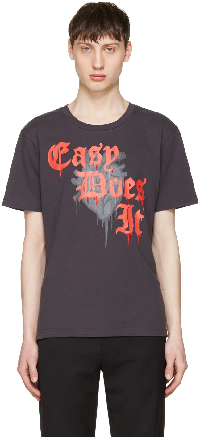 Image of Coach 1941 Black easy Does It T-shirt