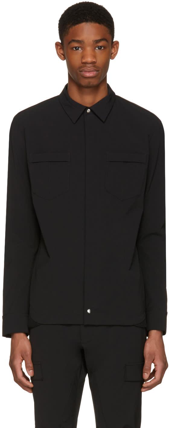 Philippe Dubuc Black Field Shirt