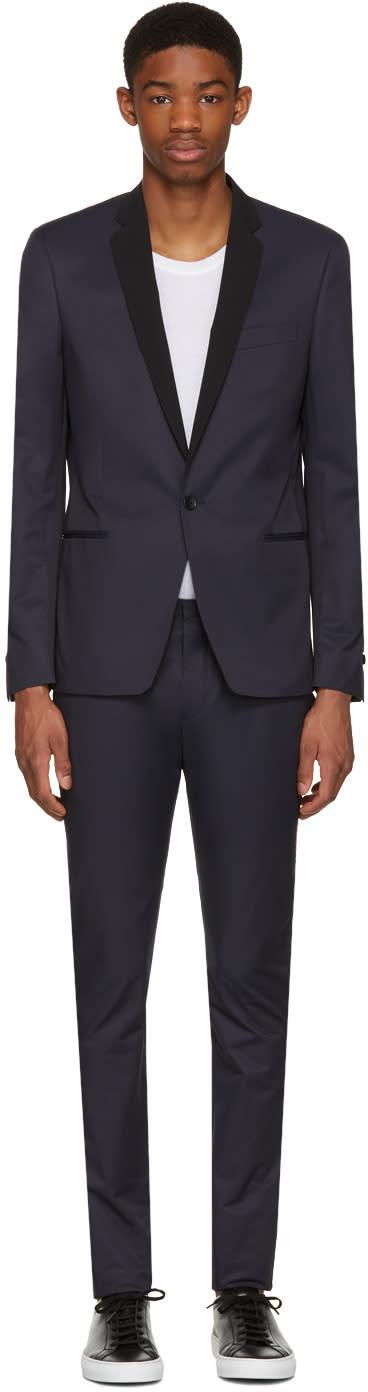 Philippe Dubuc Navy Tuxedo Suit