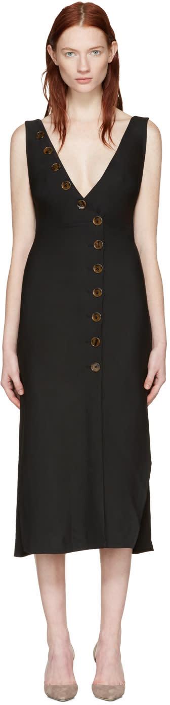 Khaite Black Christy Dress