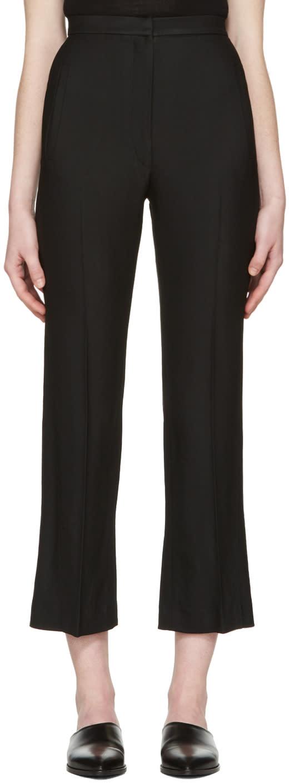 Khaite Black Audrey Trousers