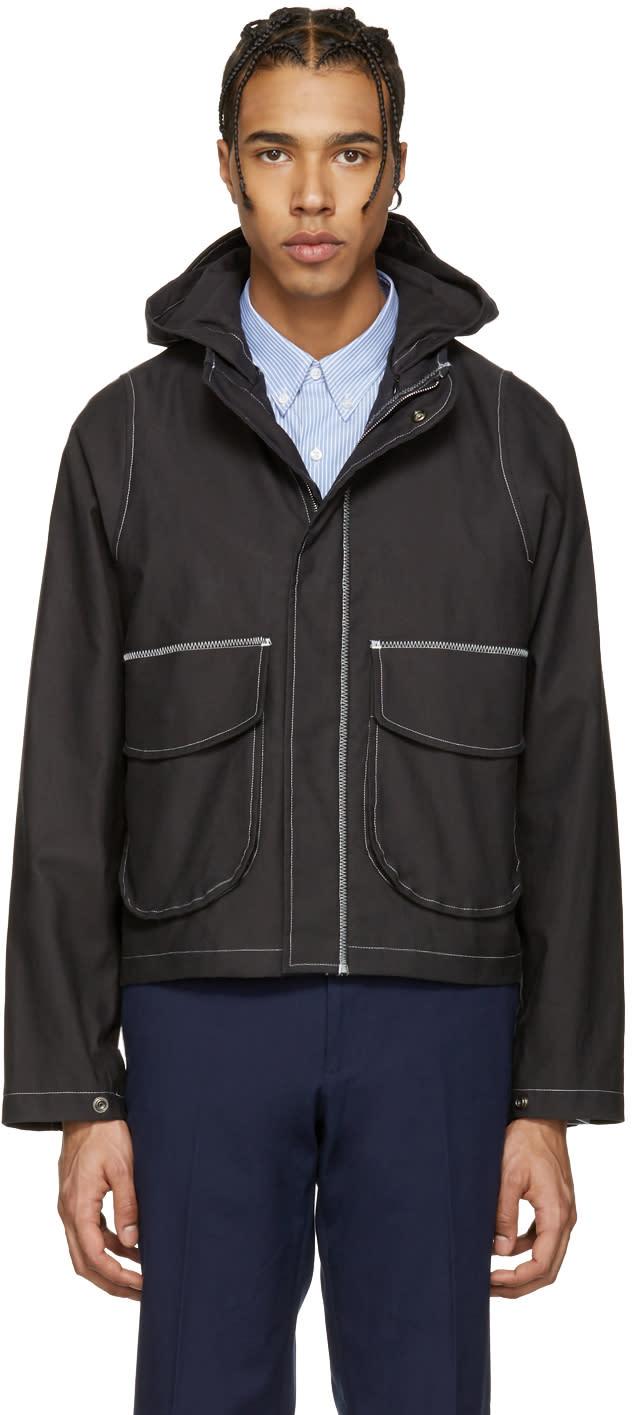 Image of Childs Black Cropped Foul Jacket