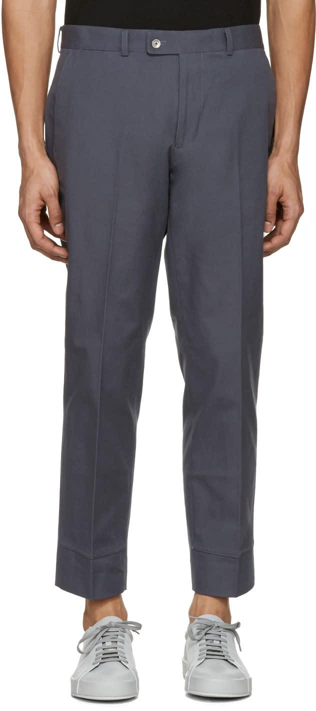Image of Childs Grey False Hem Trousers