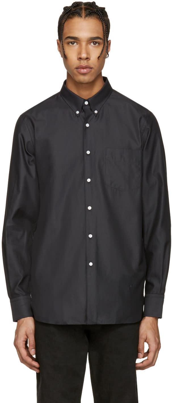 Image of Childs Black Fleet Button-down Shirt