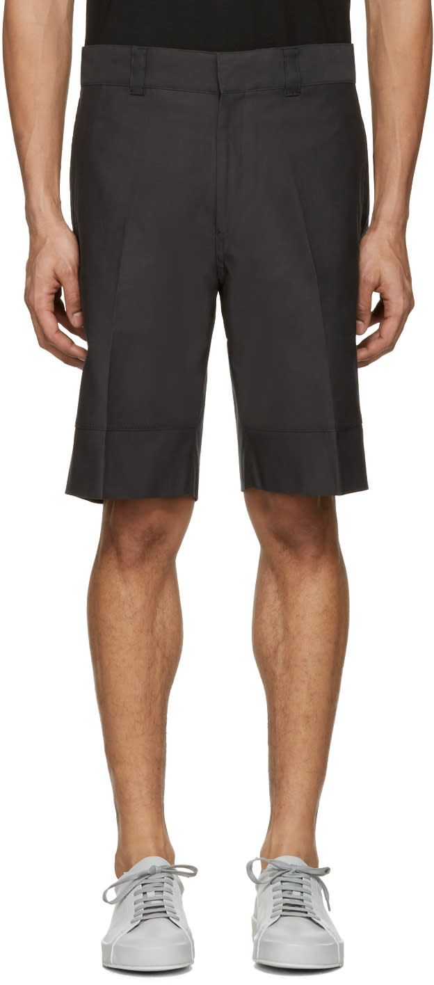 Image of Childs Black Beam Baggy Shorts
