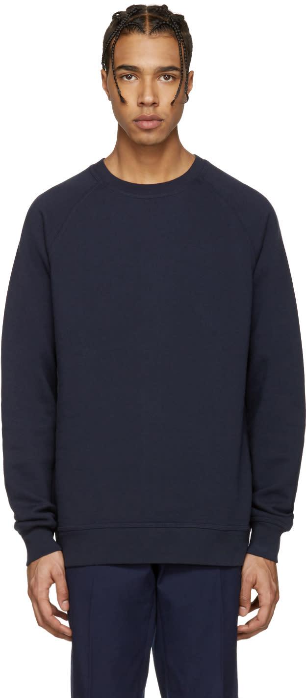 Image of Childs Navy Crew Sweatshirt