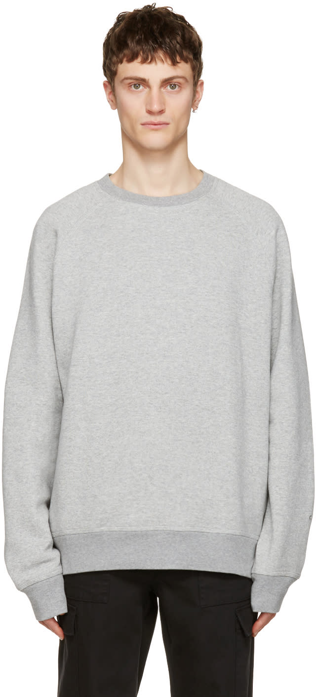 Image of Childs Grey Crew Pullover