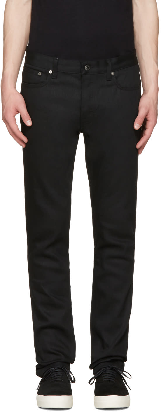 Herman Black Slim Rocker Jeans